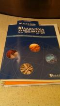 Lehigh University Science and Environmental Writing - image of 2014 AAAS Annual Meeting program book