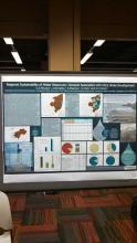 Lehigh University Science and Environmental Writing - image of a poster from a recent conference